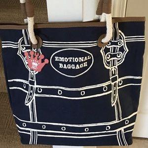 Handbags - NWT Emotional Baggage Tote Bag